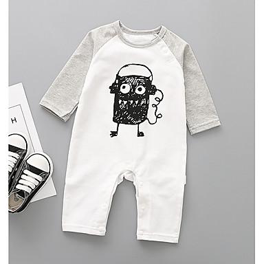 Bebelus Băieți Activ Imprimeu Manșon Lung Poliester O - piesă Trifoi