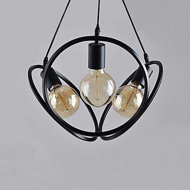 CONTRACTED LED 3-Light Kuglasta / Novelty Candelabre Lumină Spot Pictate finisaje Metal Stil Minimalist, Draguț, Ajustabil 110-120V / 220-240V Becul nu este inclus