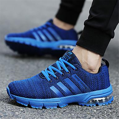 Talon Chaussures à Plat Femme Chaussures Tricot Automne Gris Confort Course été 06736321 d'Athlétisme Rouge Bleu Pied Printemps n1Pxpxfwq