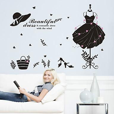 Decorative Wall Stickers - Plane Wall Stickers Shapes Living Room / Bedroom / Bathroom