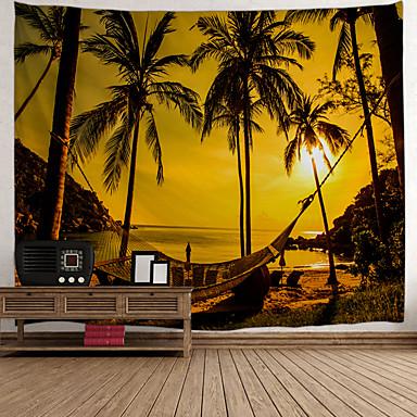 Noutate / Vacanță Wall Decor Poliester Clasic / Vintage Wall Art, Tapiserii de perete Decor