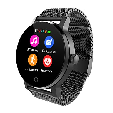 Uita-te inteligent SMA09A pentru Android iOS Bluetooth Monitor Ritm Cardiac Touch Screen Standby Lung Telefon Hands-Free Detectarea Distanţei Pedometru Reamintire Apel Monitor de Activitate