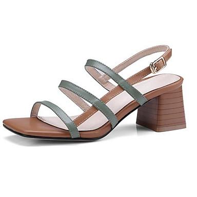 Noir Femme Bottier Vert Cuir 06768594 Eté Confort Rouge Chaussures Talon Sandales Nappa rrq08Za