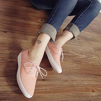 Chaussures Rose Talon Ballerines 06791994 Nappa Femme rond Bout Noir Plat Confort Eté Cuir Blanc RZxAqd
