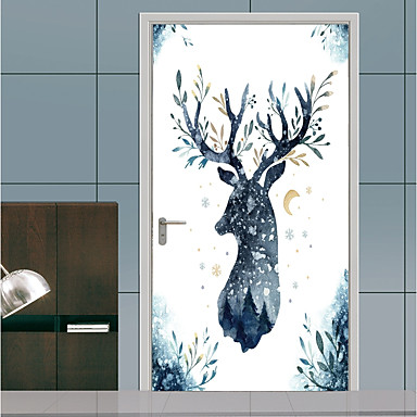 cheap Holiday Wall Stickers-Decorative Wall Stickers / Door Stickers - Plane Wall Stickers Religious / 3D Living Room / Bedroom