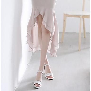 06827870 Chaussures Bottier Femme Confort Printemps Talon Cuir Noir Nappa Blanc Sandales vnqwxadCpq
