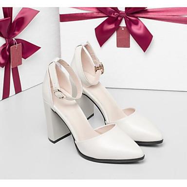 bien bien bien la transformation: messieurs - dames: les chaussures de confort / basic pompe printemps nappa cuir beige talon noir, talons chunky bb93db