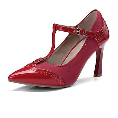 synthétique Rouge Femme Talons Aiguille Noir Printemps Talon Bout Basique Chaussures Matière 06793143 Beige Escarpin pointu Chaussures à été rEgEaAwq