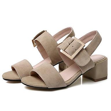 Bottier Femme Sandales Amande Daim Talon Confort 06833189 Chaussures Eté PwPrYvq