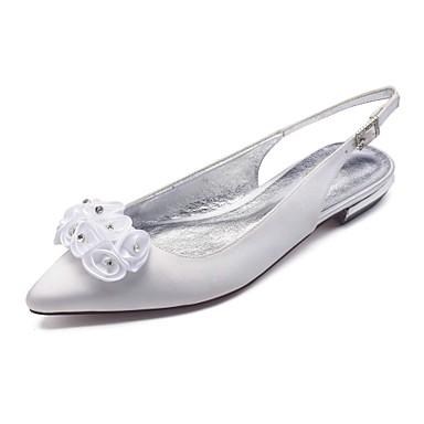 en en en Talon Femme Brillante Chaussures Confort Bout Chaussures Arri f2d62c