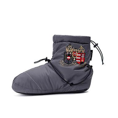 Femme Chaussures de Ballet Nylon Plate Talon Talon Talon Plat Chaussures de danse Noir / Gris / Gris Foncé 937fe8