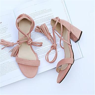 Chaussures Noir synthétique Escarpin Amande Talon Bout Basique ouvert Eté Rose Matière Bottier Femme 06791918 Sandales UqfwndPUx