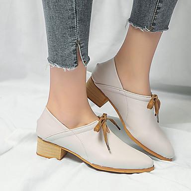 Mary Beige Mujer Zapatos Tacón Cuadrado Jane 06830593 Verano Tacones Negro PU tOTrqzwO