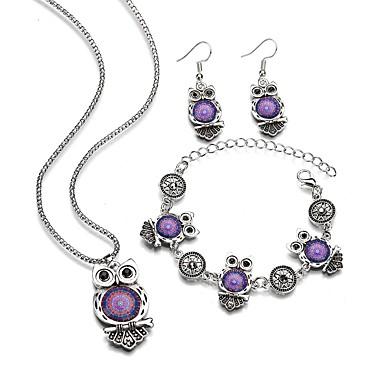 8bb9c00225b4 Mujer Cadena gruesa Conjunto de joyas Resina damas