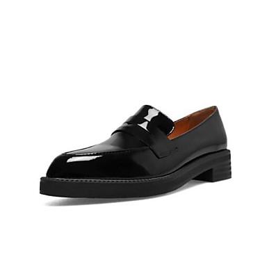 et D6148 Chaussures Printemps Confort Bourgogne Cuir Noir Femme Bout Plat fermé Mocassins 06840586 Chaussons Nappa Talon Blanc Eté 0zq4xnwd