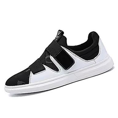 Muškarci PU Ljeto Udobne cipele Sneakers Color block Obala / Crn