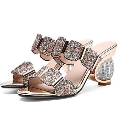 Noir Sandales Or hétérotypique Escarpin Talon Basique Confort 06833033 Femme Microfibre Eté Argent Chaussures RzwYOv