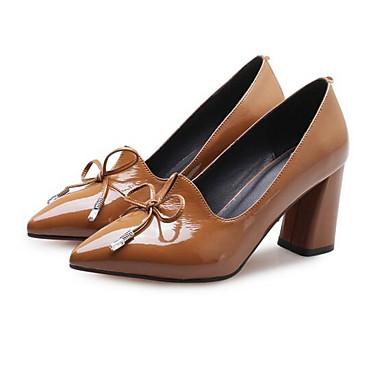 Bottier Blanc Femme Talon Chaussures 06836931 à Confort Noir Marron Nappa Automne Chaussures Talons Cuir rr8qzwv