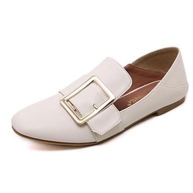 Mujer Negro verano Tacón 06840331 Confort Primavera Plano Bailarinas Almendra PU Zapatos qxFwqr4p