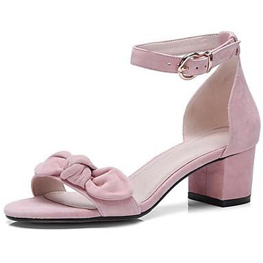 Sandales Bottier Confort Daim 06833370 Printemps Noir Talon Femme Chaussures OWIBqSTI