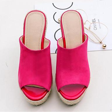 Creepers Rouge ouvert Cuir Amande 06776917 Eté Femme Chaussures Nappa Noir Confort Bout Sandales YqOvvR