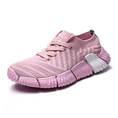 chaussures pour femme chaussures d'athlétisme des chaussures chaussures chaussures de confort knit automne croûton Gris . 182113