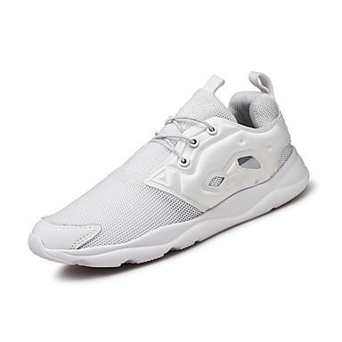 Muškarci Mrežica Ljeto Udobne cipele Atletičarke tenisice Trčanje Obala / Sive boje / Crno-bijeli