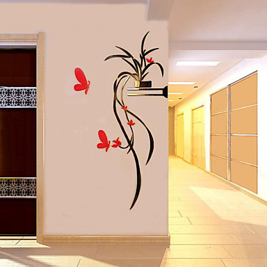 Decorative Wall Stickers - 3D Wall Stickers Romance / Botanical / Floral / Botanical Living Room / Boys Room / Hallway