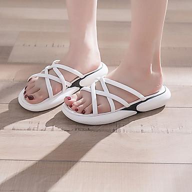 monsieur / madame le /  's pu (polyuréthane) le madame confort d'été des sandales croûton noir / plusieurs nouveaux modèles eb7128