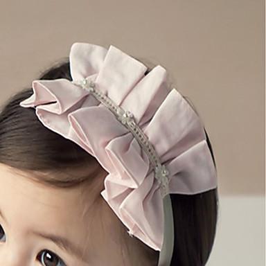 voordelige Kinderaccessoires-Peuter Meisjes Actief Dagelijks / Uitgaan Bloemenprint Chiffon Haaraccessoires Blozend Roze Een maat / Haarbanden
