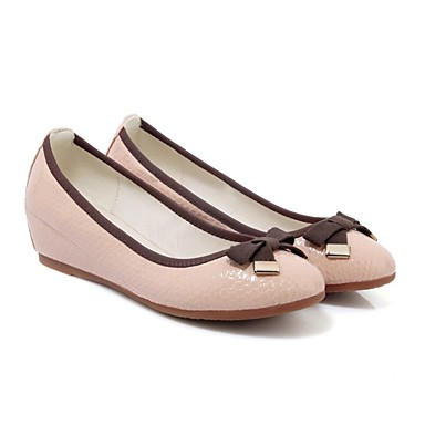 Vert Polyuréthane Talon Confort Rose Eté foncé Chaussures Ballerine Plat 06791455 Amande Ballerines Femme qxa1vT5