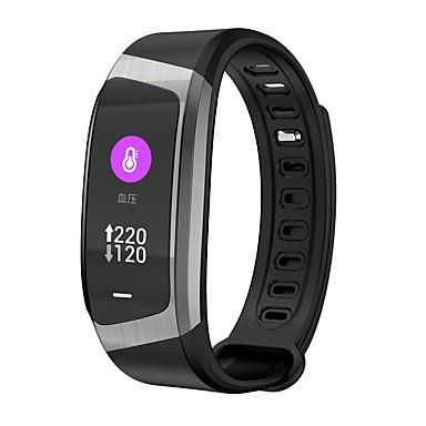 Smart Narukvica YY-E18 za Android iOS Bluetooth Heart Rate Monitor Mjerenje krvnog tlaka Ekran na dodir Kalorija Dugi standby Brojač koraka Podsjetnik za pozive Mjerač aktivnosti Mjerač sna