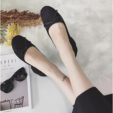de Slip Verano taco Ante Mujer Rosa Caqui bajo Punta y Negro 06779232 Tacón Confort On Zapatos cerrada Bajo Zapatos XXw4z