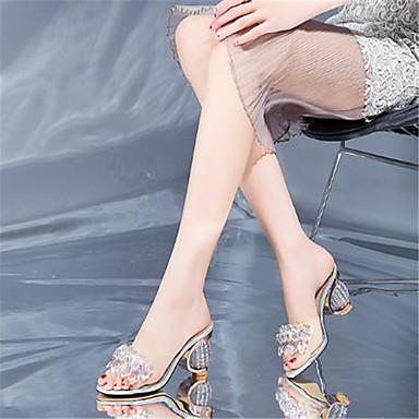 Talon Croûte Basique Argent 06785685 Sandales Cuir Bottier Femme Eté Bout Chaussures Escarpin de ouvert Strass 8ZYxUYw5pq