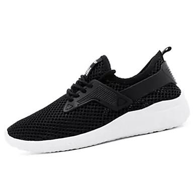 Muškarci Mrežica Ljeto Udobne cipele Atletičarke tenisice Hodanje Obala / Crn / Sive boje