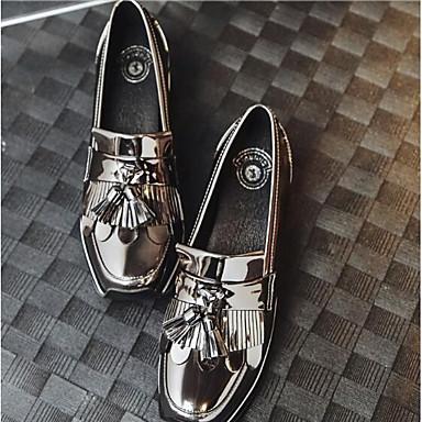 Plat D6148 Confort 06832374 Talon Noir Chaussures Mocassins Eté Nappa Femme Printemps Chaussons Cuir et Bout fermé AnXUqPwzS