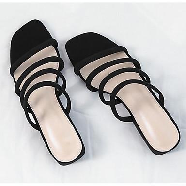 Kaki Sandales Eté Bottier Femme Talon Chaussures synthétique 06780498 Noir Confort Matière AwxpznxP
