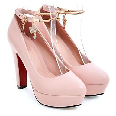 Primavera PU Rosa Mujer Negro Almendra Tacón Tacones Pump Básico Stiletto Zapatos 06834224 qfEnwBxp
