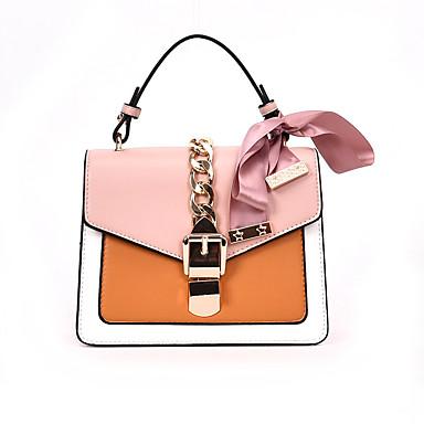 702c6eac11 Women s Bags PU(Polyurethane) Shoulder Bag Bow(s)   Zipper Geometric Black    Pink   Brown