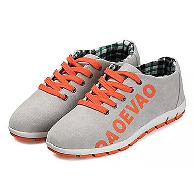 Men's Denim Spring Comfort Sneakers Dark Blue / Gray / Wine