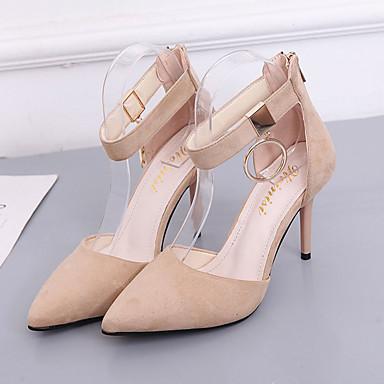 Mujer Stiletto Beige D'Orsay 06839839 Piezas Dedo Tacones Verano Zapatos Dos Tacón Negro Puntiagudo PU y gqxOzHgrw