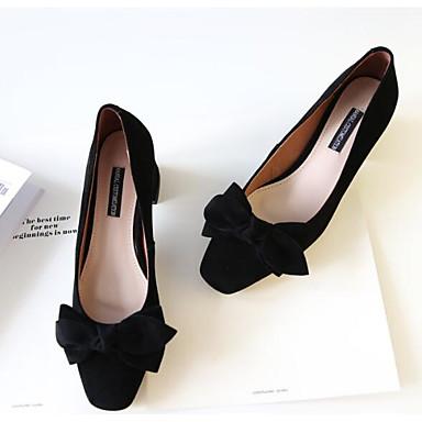 Noir Peau Gris Bottier Chaussures 06794856 Escarpin Confort de Printemps à Basique clair mouton Femme Amande Talon Talons Chaussures Oxw85qq6