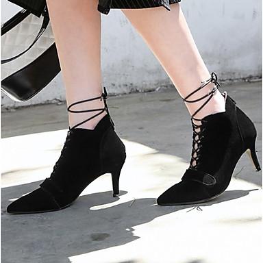 bdcf7a5daf99d ... Bout de pointu Cheville 06827668 Mode Aiguille Noir Bottes Bottine Talon  Soirée Jaune Bottes Femme Chaussures