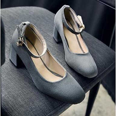 06827764 Automne Confort Basique Gris Chaussures Printemps Bottier Noir Femme Talon Chaussures à Polyuréthane Bourgogne Daim Talons Escarpin qw4IaH1x