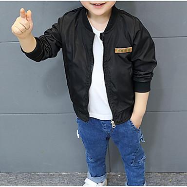 Djeca Dječaci Osnovni Geometrijski oblici / Color block Dugih rukava Jakna i kaput