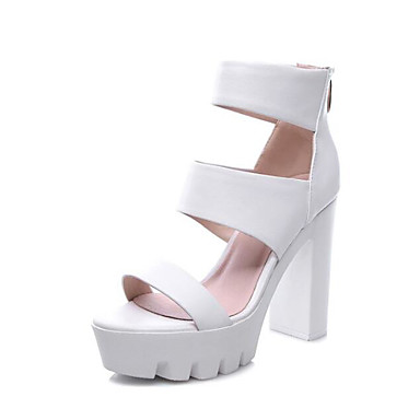 Sandales Confort Noir 06790880 Escarpin Eté Basique Plateau Femme Chaussures Cuir Nappa Blanc w6nIg007q