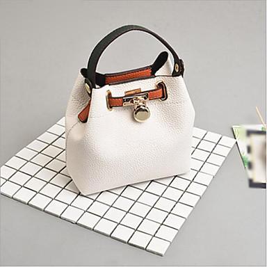 7e9fb4fb14 Γυναικεία Τσάντες PU Σετ τσάντα 2 σετ Σετ τσαντών Φερμουάρ Λευκό   Μαύρο   Ανθισμένο  Ροζ