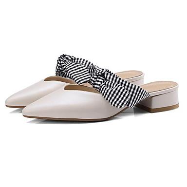 Nappa fermé Beige Bout 06799499 Femme amp; Cuir Sabot Talon Confort Bottier Eté Chaussures Noir Mules OPqfwPxEC