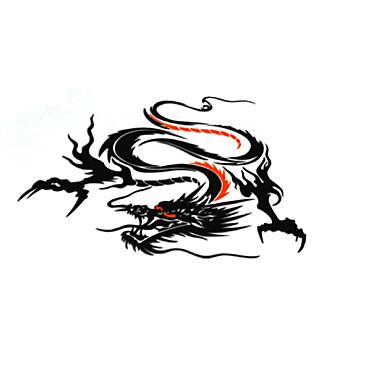 Crn / Pink / Bijela Naljepnice za auto Kineski stil Vrata za vrata Životinja Naljepnice