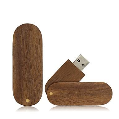 Ants 4GB usb flash pogon usb disk USB 2.0 Drvo / Bambus Rotirajući